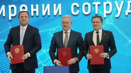 Госкорпорации «Росатом» и «Роскосмос» посетили новую ТОР в Красноярском крае